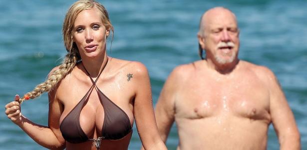 Български пенсионер на море