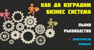 Как да изградим бизнес система [пълно ръководство + практически примери]