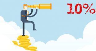 Как да постигнем 10% годишна доходност с разумен риск [стратегии + инструменти]